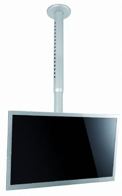 Ceiling Mount with Adjustable Drop Up for Displays up to 46""